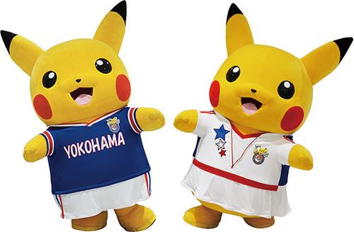昨年のポケモンセンターヨコハマ オリジナルユニフォームを着たピカチュウ